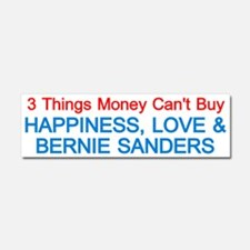 Happiness, Love And Bernie Car Magnet 10 X 3