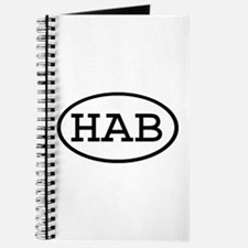 HAB Oval Journal