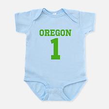 OREGON #1 Infant Bodysuit