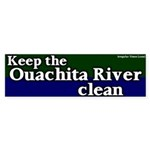 Ouachita River Bumper Sticker