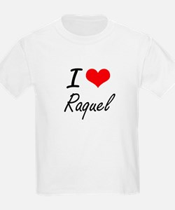I Love Raquel artistic design T-Shirt