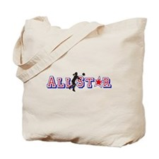 All Star Volleyball Tote Bag