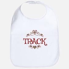 Track Hearts Bib