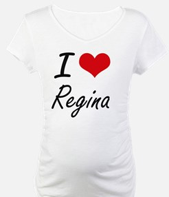 I Love Regina artistic design Shirt