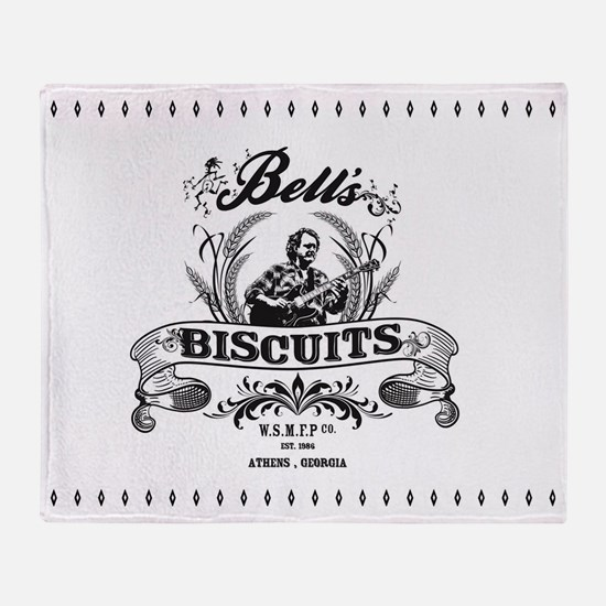 Bell's Biscuits Throw Blanket