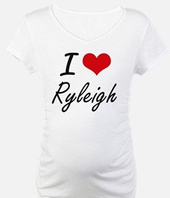 I Love Ryleigh artistic design Shirt