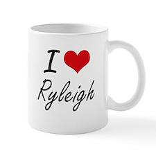 I Love Ryleigh artistic design Mugs