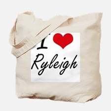 I Love Ryleigh artistic design Tote Bag