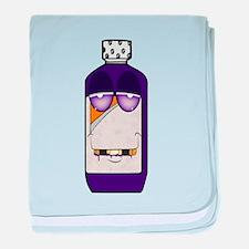 Codeine Crazy Cartoon baby blanket
