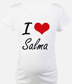 I Love Salma artistic design Shirt