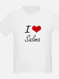 I Love Salma artistic design T-Shirt