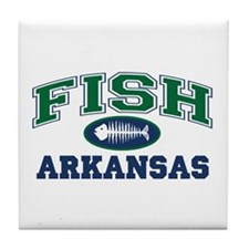 FISH ARKANSAS Tile Coaster