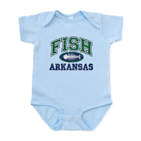 FISH ARKANSAS Infant Bodysuit