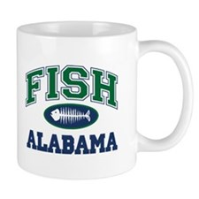Fish Alabama Mug