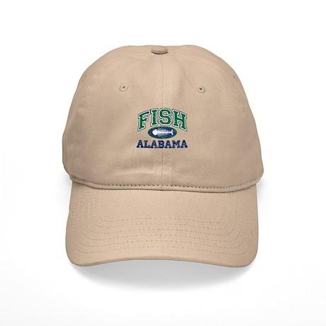 Fish Alabama Cap