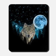 Wolf StarLight Mousepad
