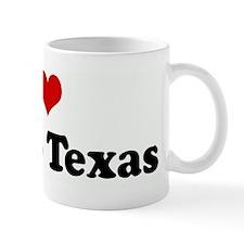 I Love Frisco Texas Mug