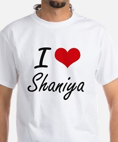 I Love Shaniya artistic design T-Shirt