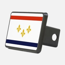 New Orleans Flag Hitch Cover