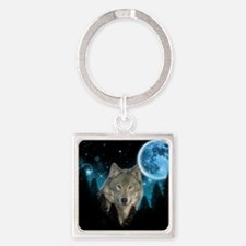 Wolf StarLight Keychains
