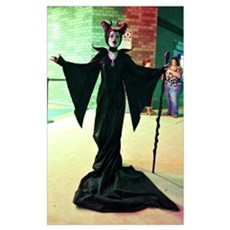 Maleficent Cosplay Framed Print