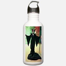Maleficent Cosplay Water Bottle