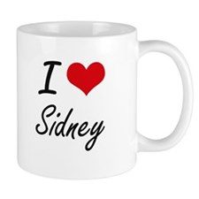I Love Sidney artistic design Mugs