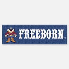 Freeborn Bumper Bumper Sticker