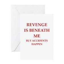 revenge Greeting Cards