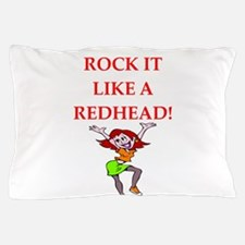 redhead Pillow Case
