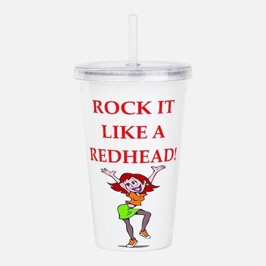 redhead Acrylic Double-wall Tumbler