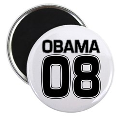 Obama 08 Political Fridge Magnet