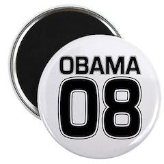 Obama 08 Political Fridge Magnet