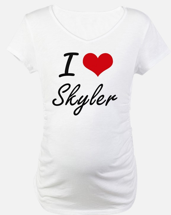 I Love Skyler artistic design Shirt