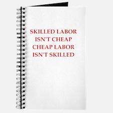 skilled labor Journal