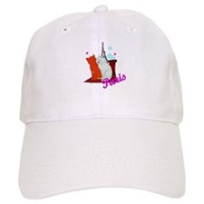 Paris Kitties Baseball Cap