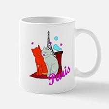 Paris Kitties Mug