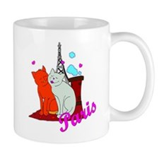 Paris Kitties Mug