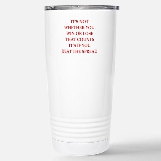 betting Travel Mug