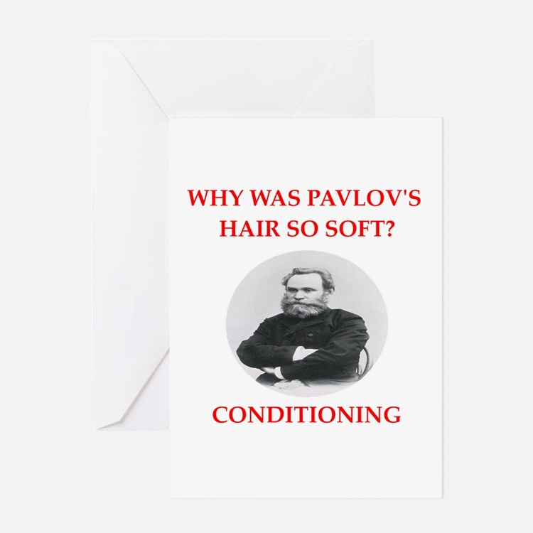 pavlov Greeting Cards