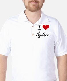 I Love Sydnee artistic design T-Shirt