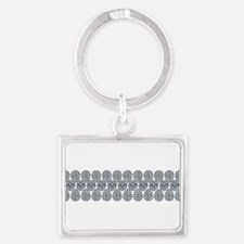Wide Diamond Bracelet Keychains