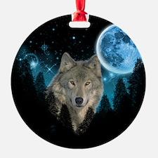 Wolf StarLight Ornament