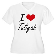 I Love Taliyah artistic design Plus Size T-Shirt
