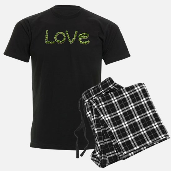 Love In Brussel Sprout Alphabe Pajamas