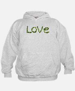 Love In Brussel Sprout Alphabet Hoodie