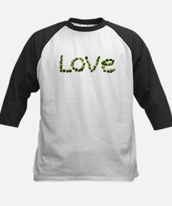 Love In Brussel Sprout Alphabet Baseball Jersey