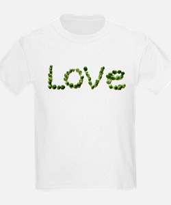Love In Brussel Sprout Alphabet T-Shirt