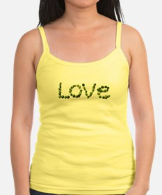 Love In Brussel Sprout Alphabet Tank Top