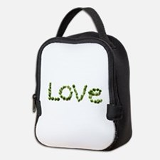 Love In Brussel Sprout Alphabet Neoprene Lunch Bag